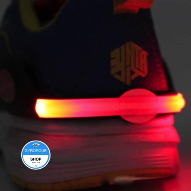 clip sécurité chaussure monocycle électrique