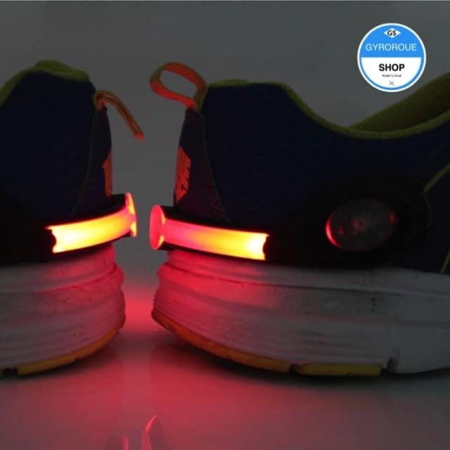 clip sécurité chaussure monoroue
