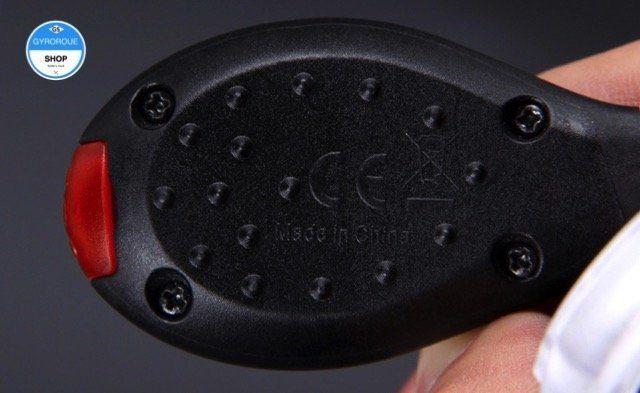 clip sécurité chaussure