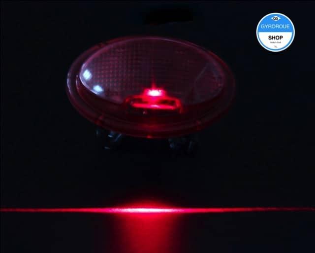 Lumière pour poignée gyroroue