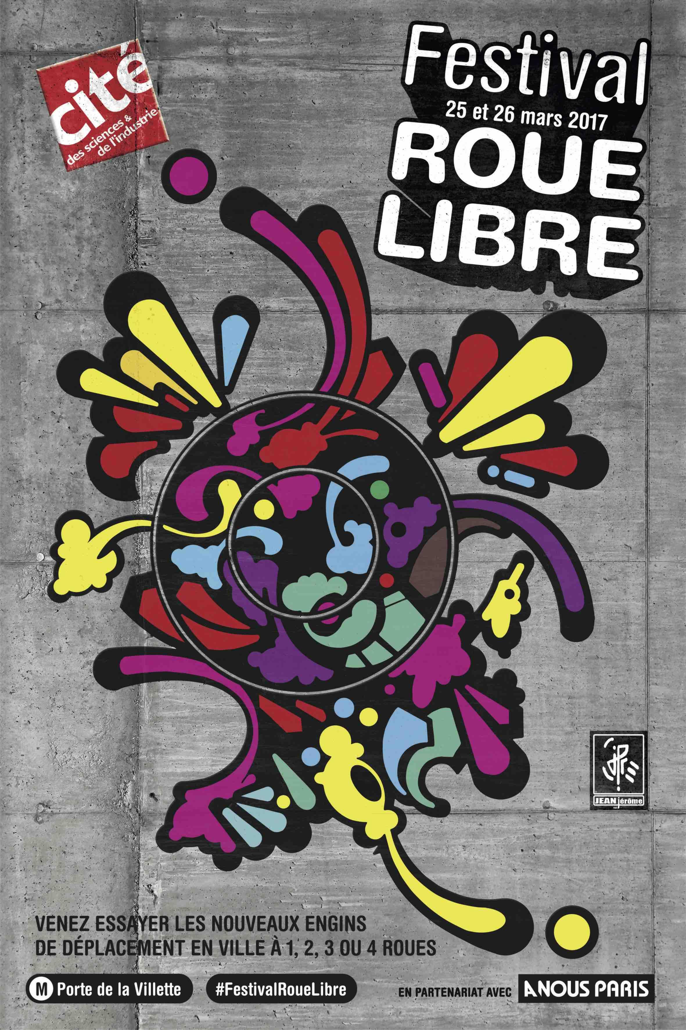 FESTIVAL ROUE LIBRE 1ère édition #FestivalRoueLibre 1