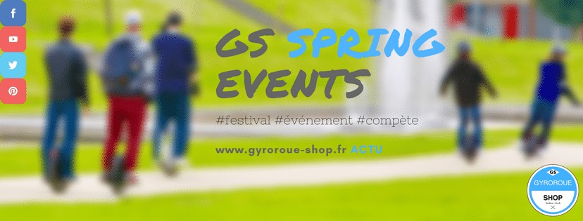 GYROROUE SHOP SPRING EVENTS
