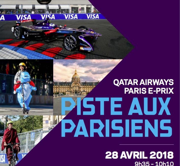 PARIS FORMULA-E ⎪ LA PISTE AUX PARISIENS 2018