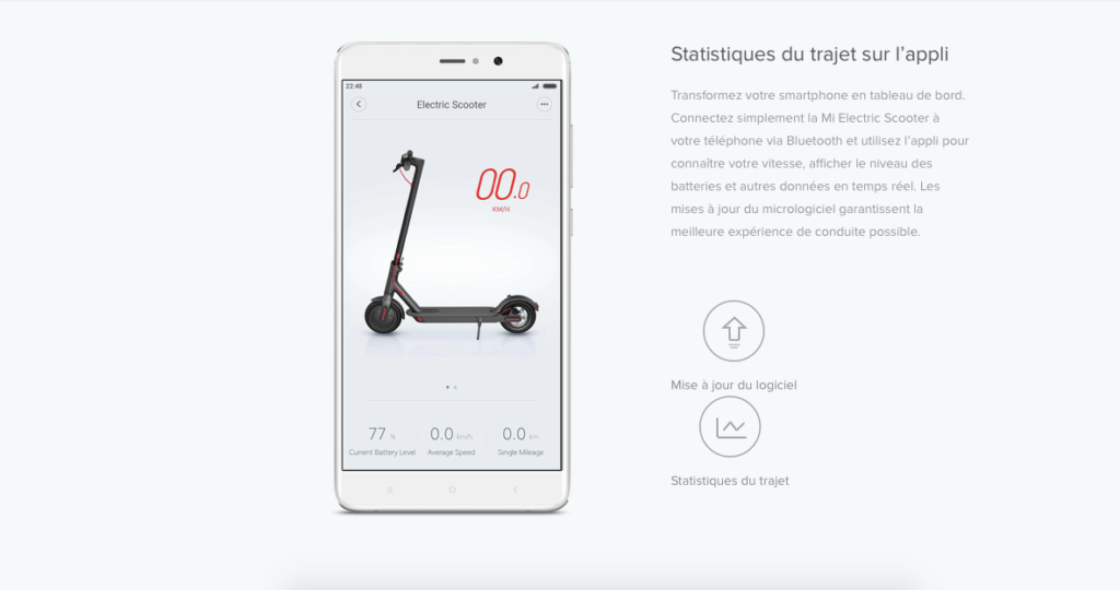 TROTTINETTE ÉLECTRIQUE XIAOMI M365 - VERSION EUROPE 6