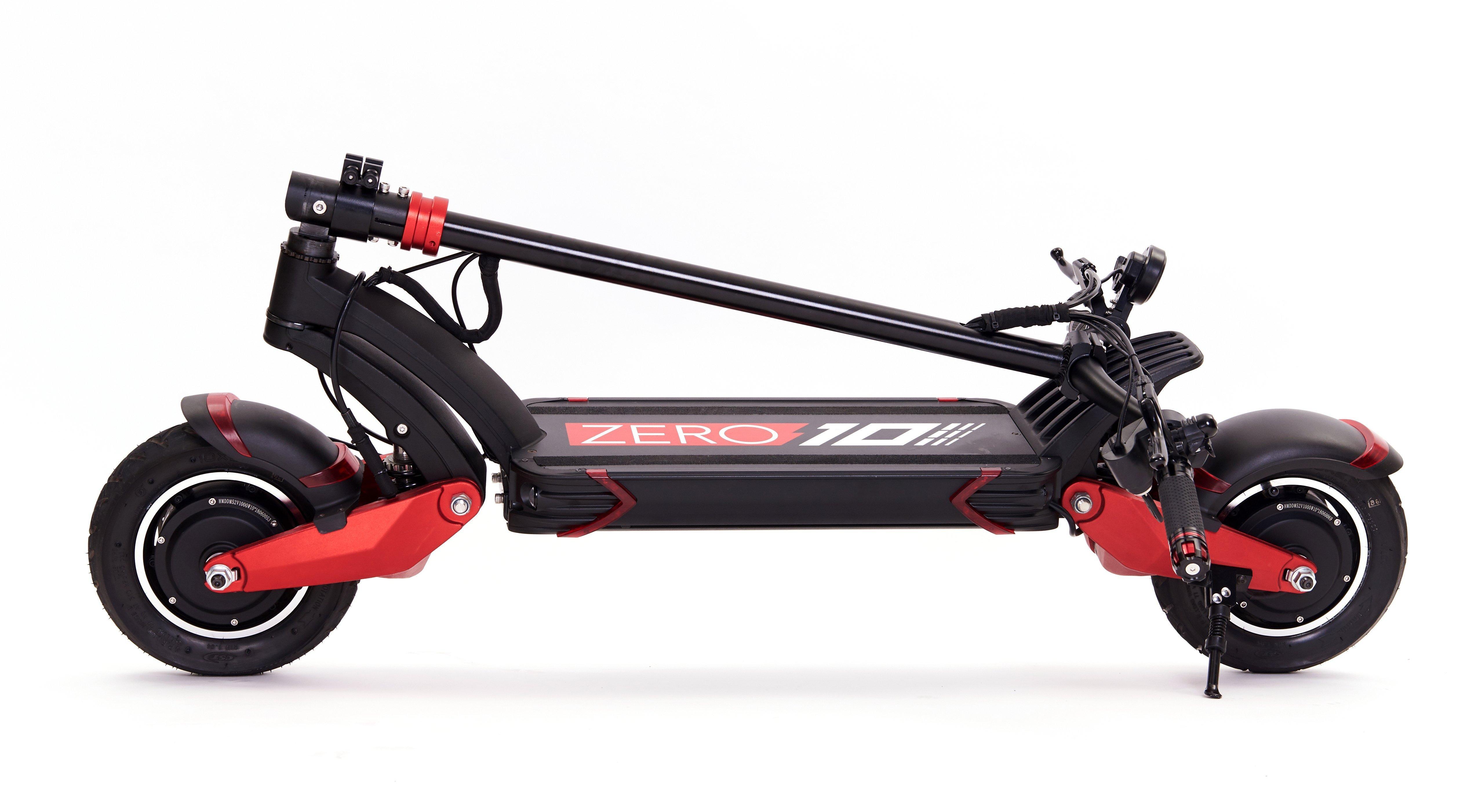 trottinette électrique sportive Zero 10X 1200W