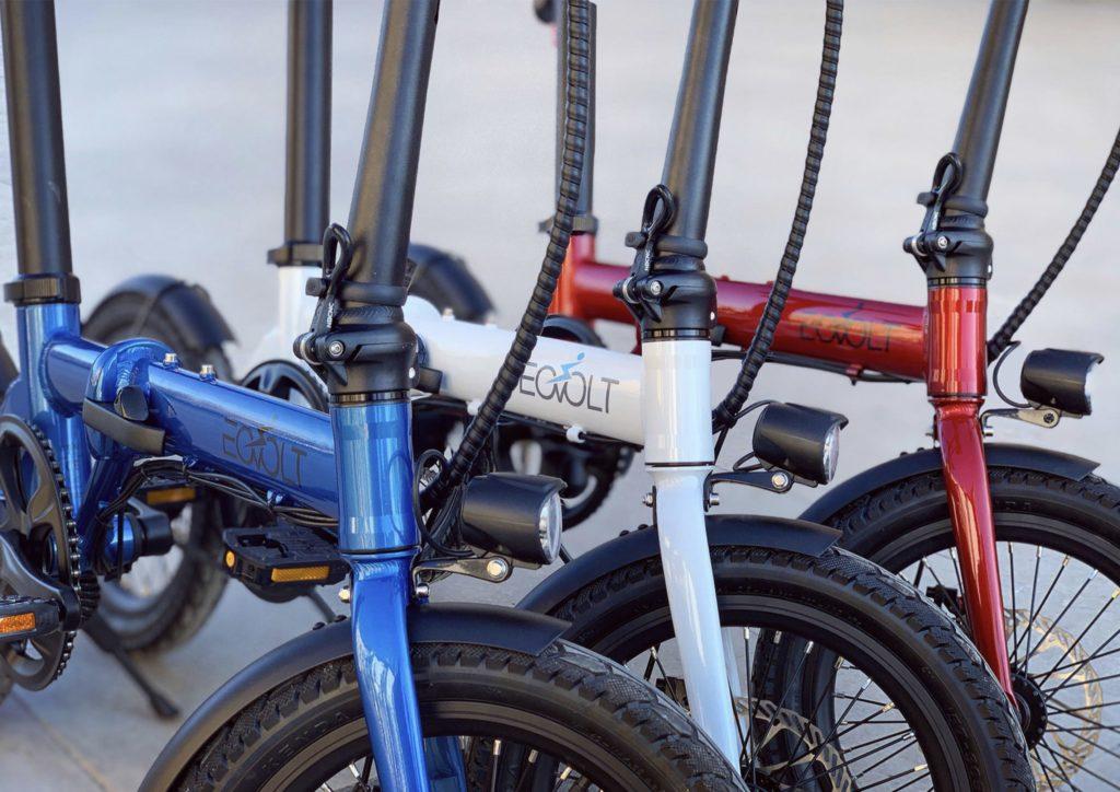 vélo pliant leger eelctrique eovolt city 16 pouces 250W
