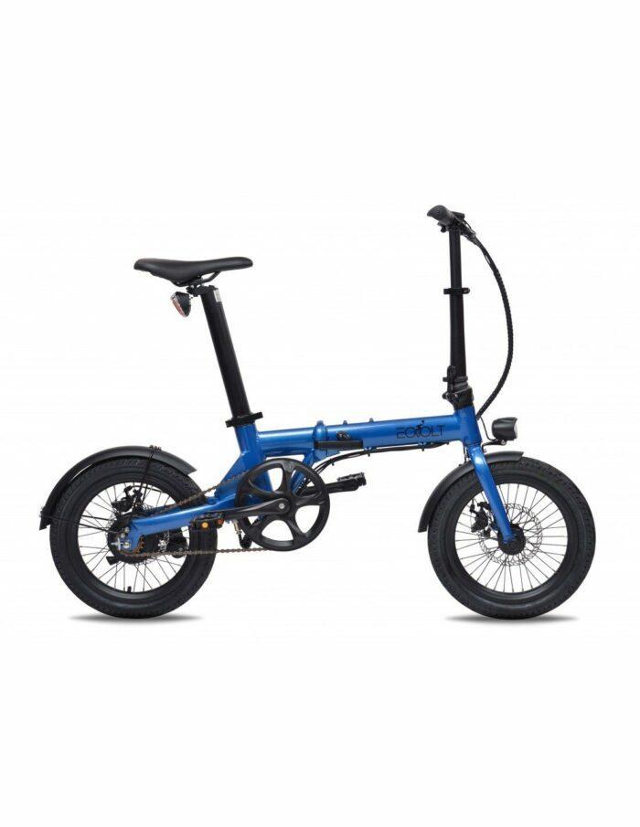 vélo plaint leger 16 pouces eovolt city bleu