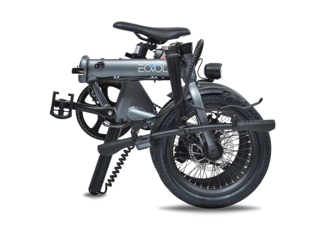 vélo eovolt plié
