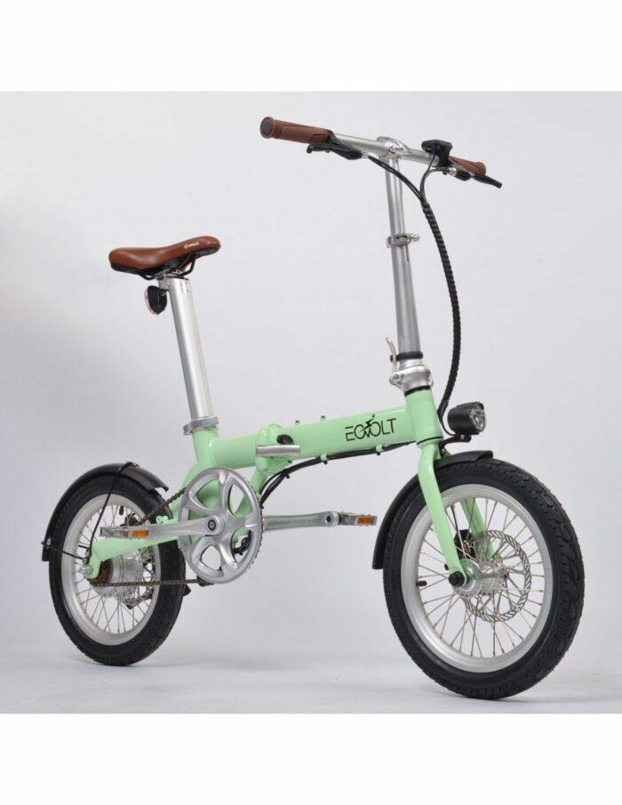 vélo pliant leger vintage eovolt 16 pouces