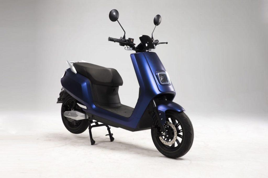 scooter electrique LVE S5 bleu