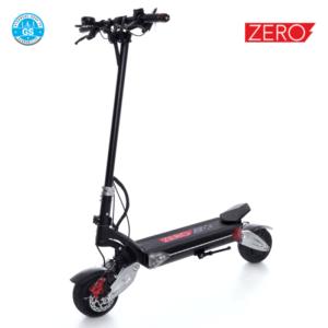 trottinette électrique zero 8X double moteur pliante suspension-pneu 8 pouces en dur gyroroue shop