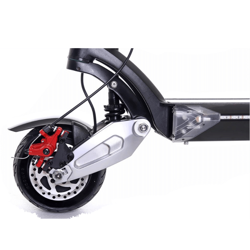 trottinette électrique zero 8X double moteur pliante suspension-pneu 8 pouces en dur