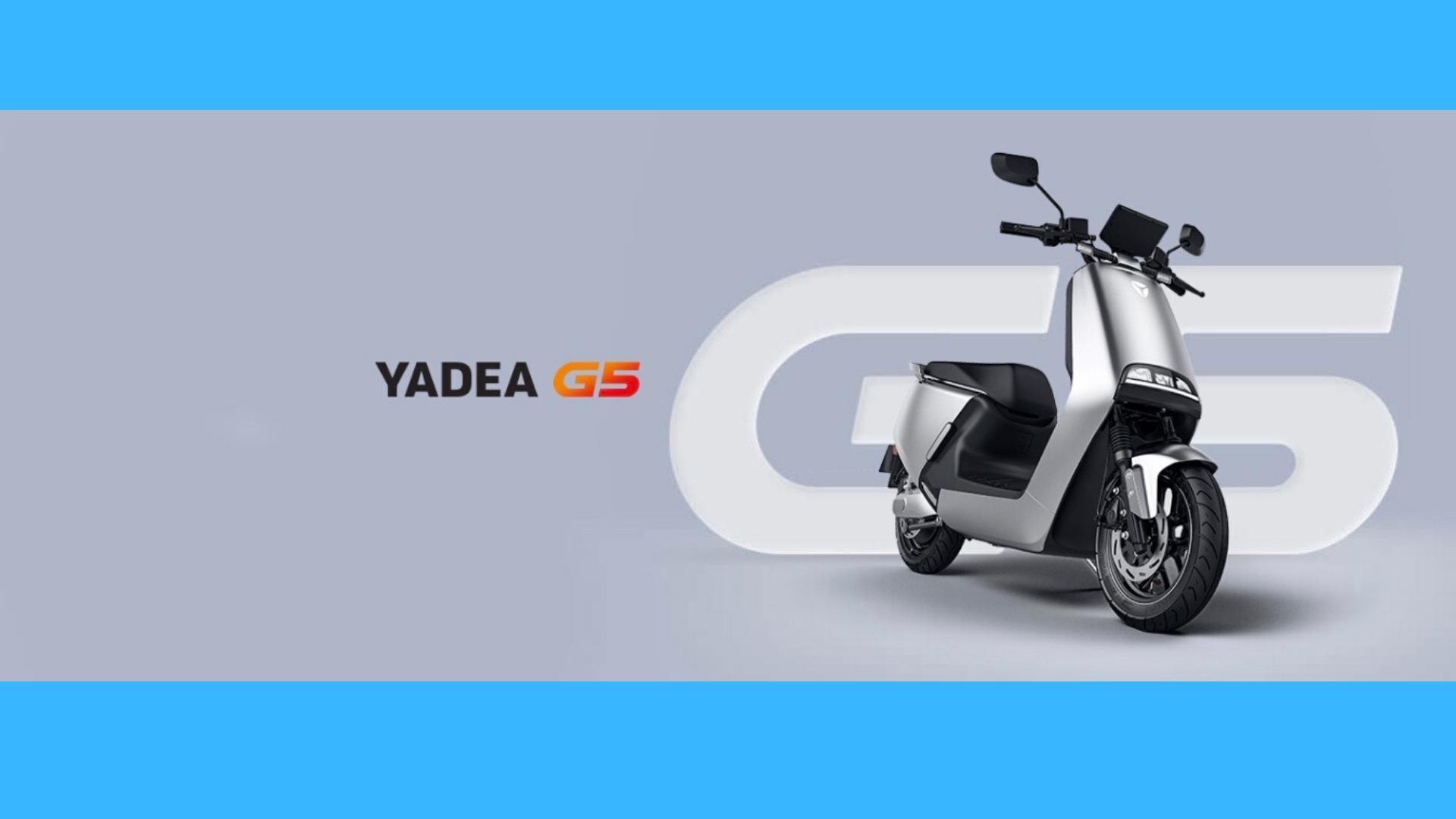 SCOOTER ELECTRIQUE YADEA G5 PRO (SANS PERMIS) 3