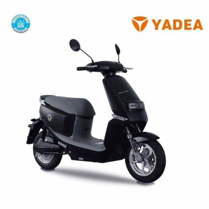 scooter electrique yadea c-line noir