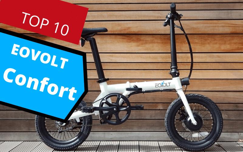 vélo elelctrique eovolt confort blanc