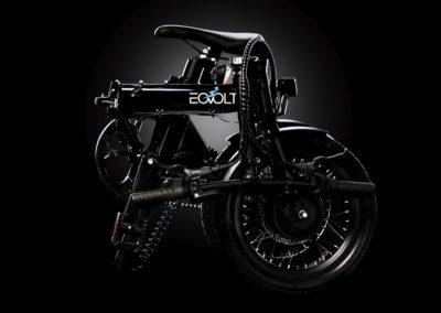 vélo eovolt city X plié noir