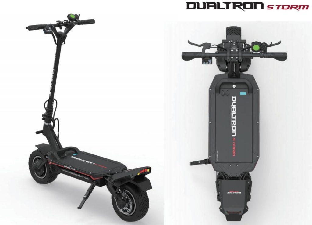 trottinette dualtron storm puissante double moteur