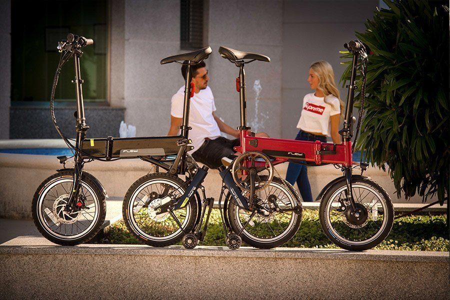 vélo pliant électrique léger flebi supra 3.0