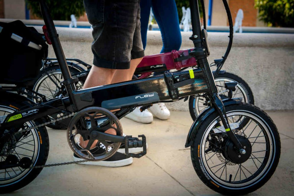 vélo electrique pliant flebi supra 3.0