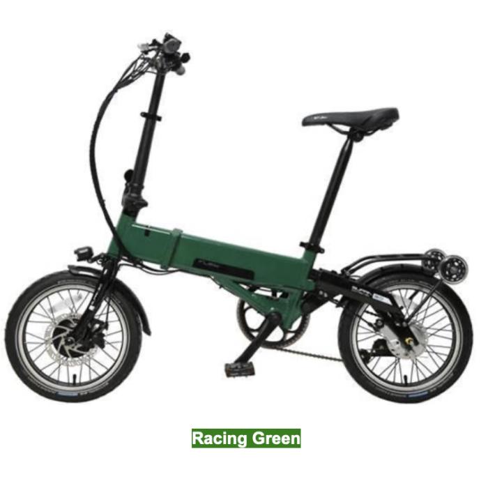 velo électrique plaint flebi supra 3 racing green